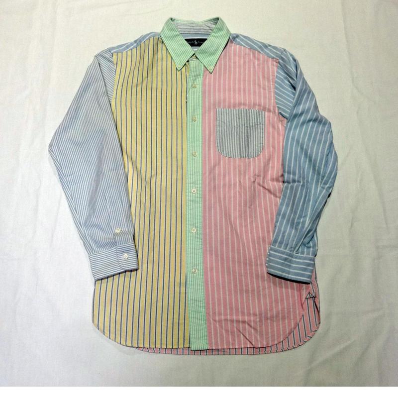 USED(古着)POLO RALPH LAURENシャツ(クレイジーパターン)