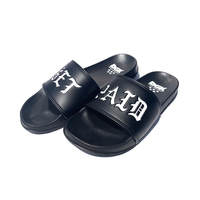 DGK | GET PAID SLIPPERS (BLACK)