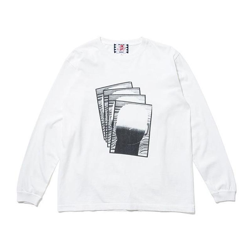 SON OF THE CHEESE | FACE commu sleeve (WHITE)