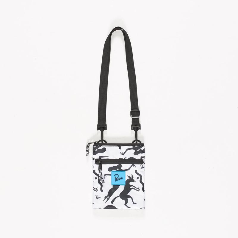 by Parra | pouch workout woman horse (white)