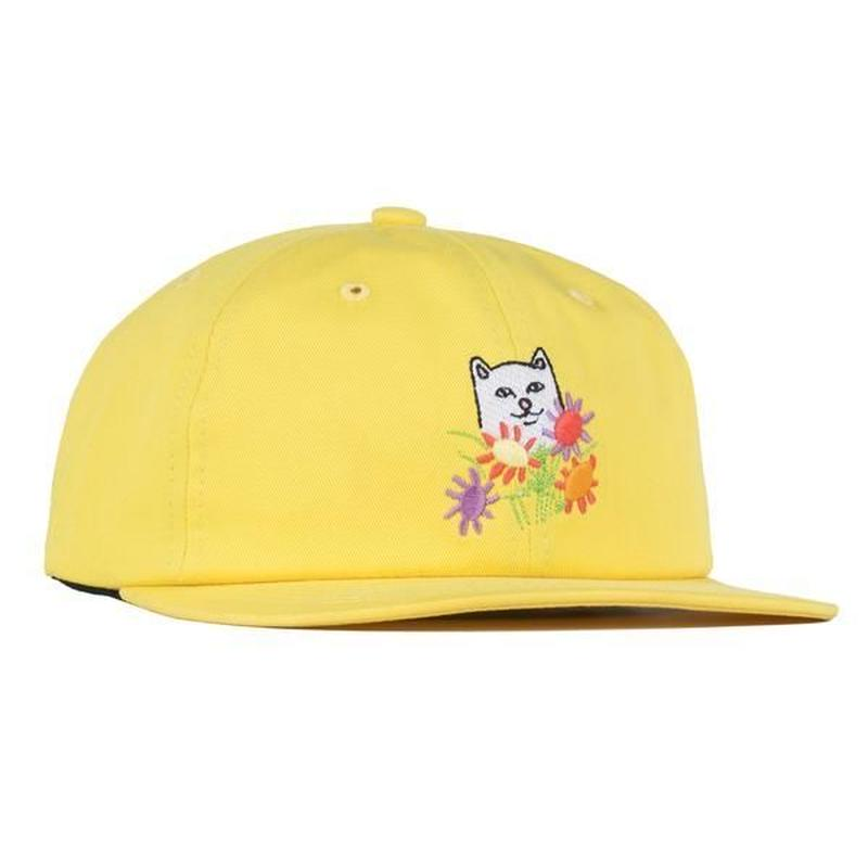 RIPNDIP | Nermcasso 6 Panel Strapback (Yellow)
