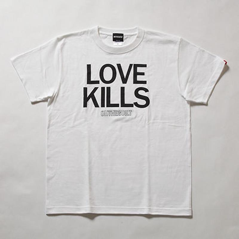 "Oh!theGuilt   ""LOVE KILLS"" S/S T-SHIRT(ホワイト)"
