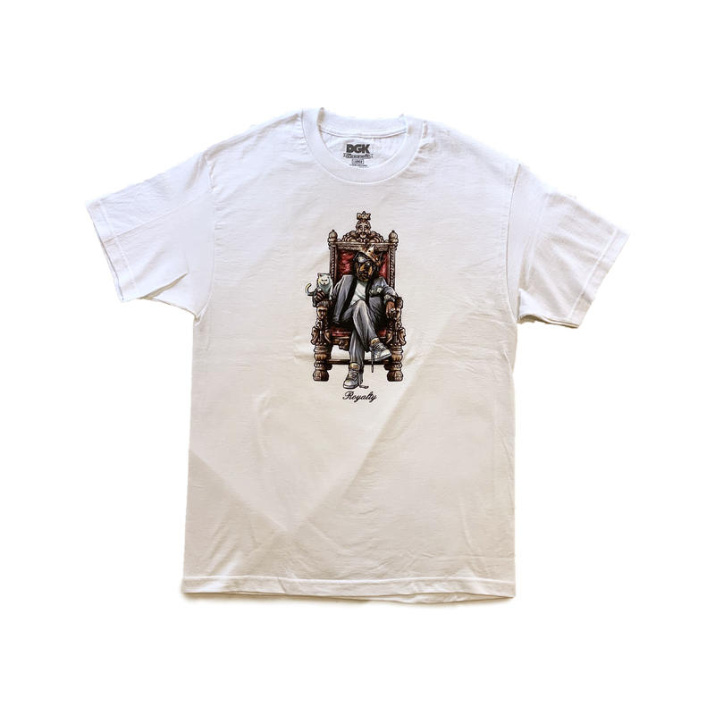DGK | Doggy Tee (WHITE)