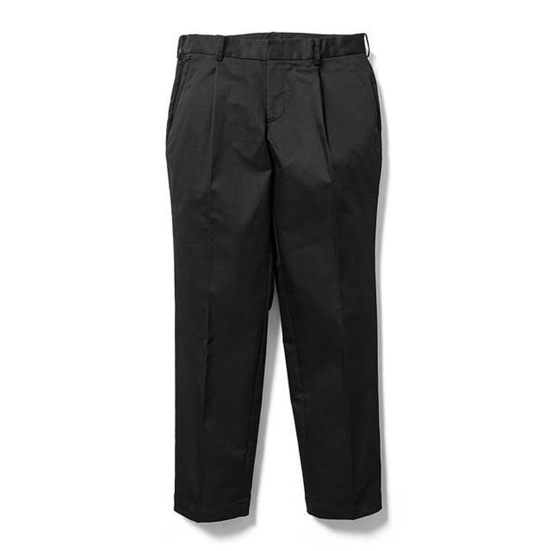 SON OF THE CHEESE | wide tack pants (BLACK)