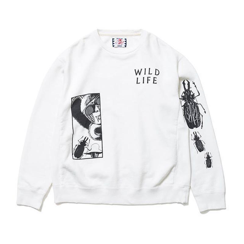 SON OF THE CHEESE | FACE WILD LIFE CREW (WHITE)