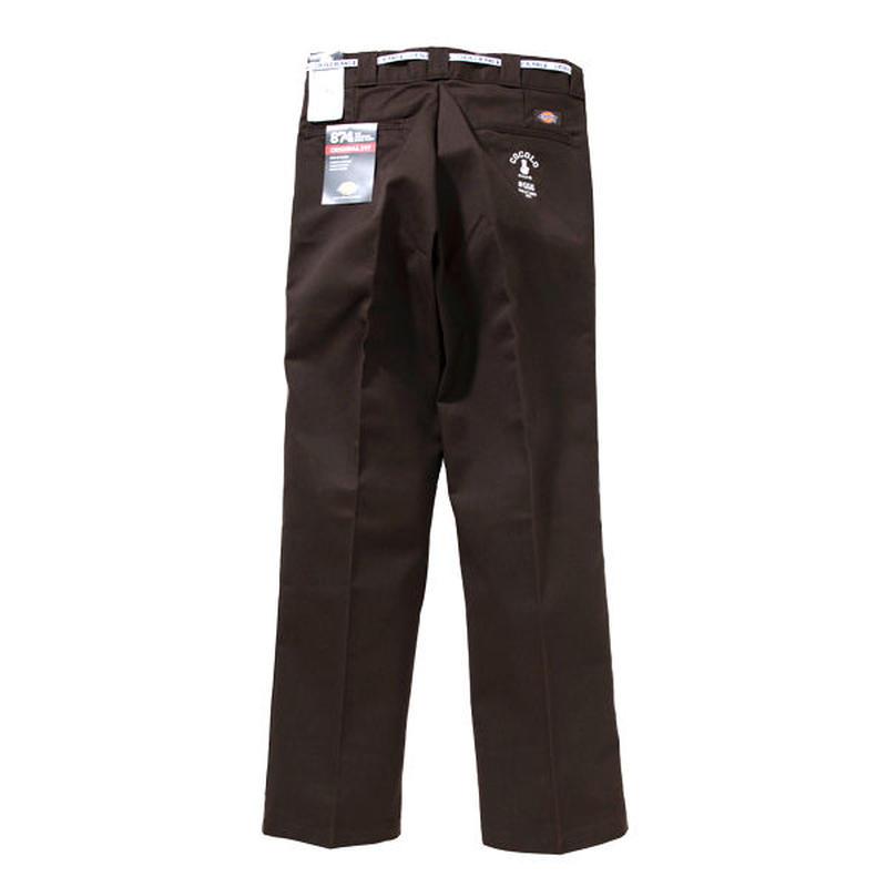 COCOLO BLAND / #556 WORK PANTS (DARK BROWN)