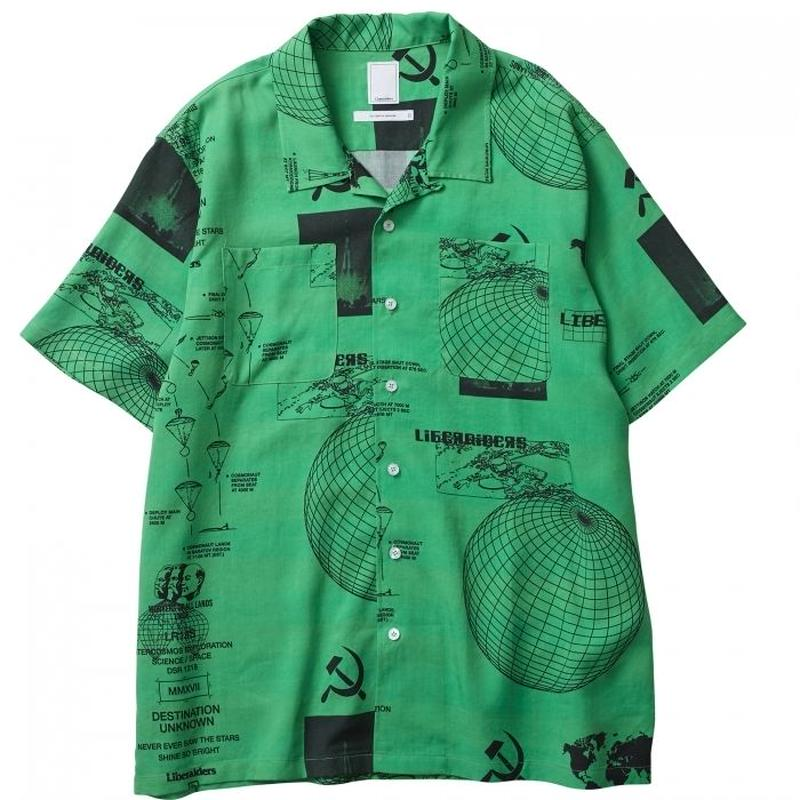 LIBERAIDERS / PACE RACE SHIRT(GREEN)