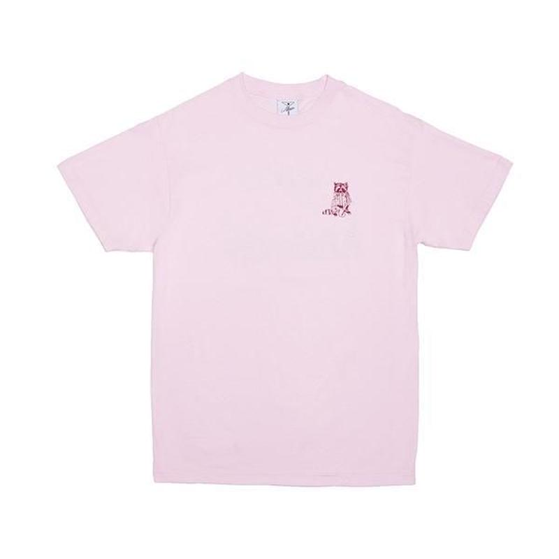 Alltimers / RACOONS SMOKING POT TEE (PINK)