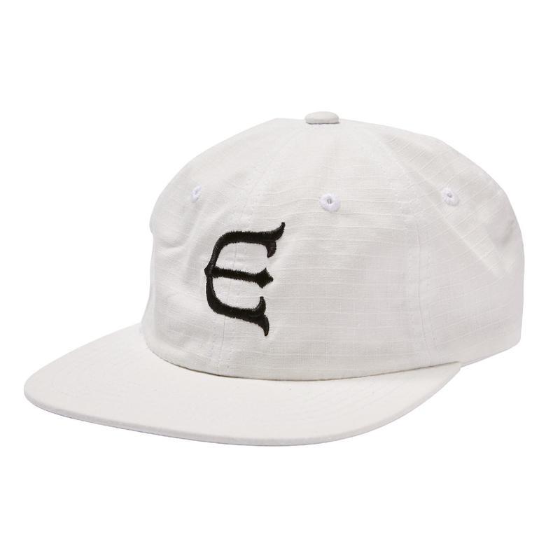 EVISEN SKATEBOARDSゑ®︎ | E LOGO OG CAP (White)
