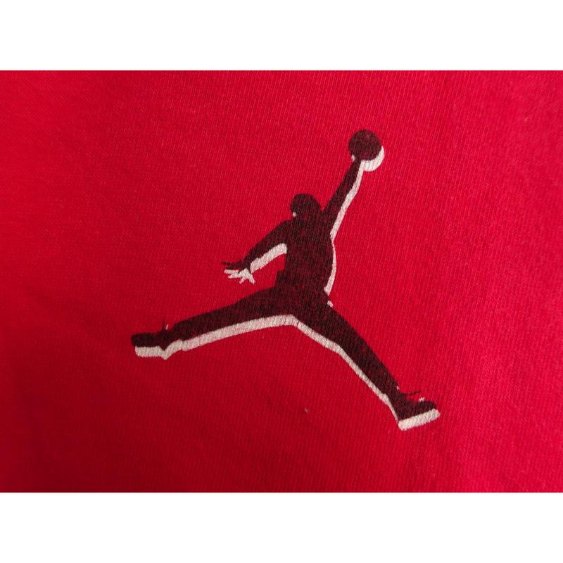 USED (古着)90年代 NIKE AIR JORDAN Tシャツ(レッド)