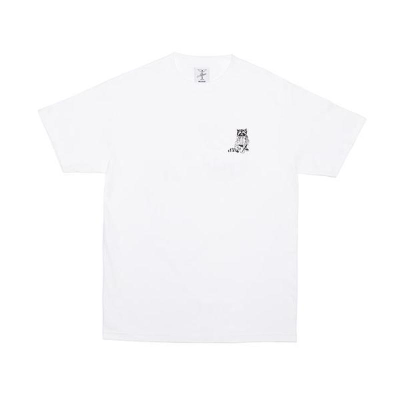 Alltimers / RACOONS SMOKING POT TEE (WHITE)