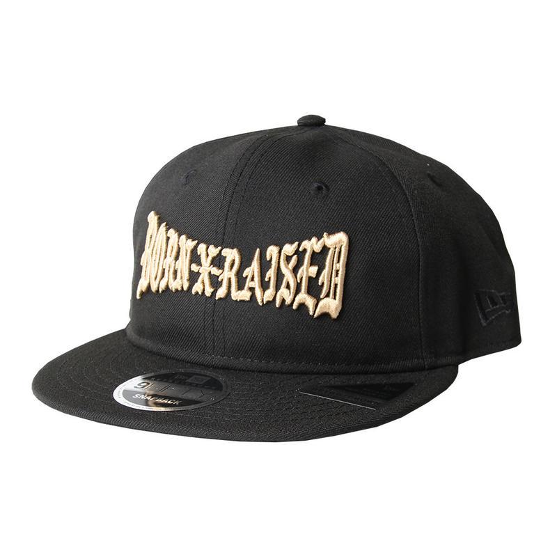 BORN X RAISED / EVERLAST HAT (BLACK)