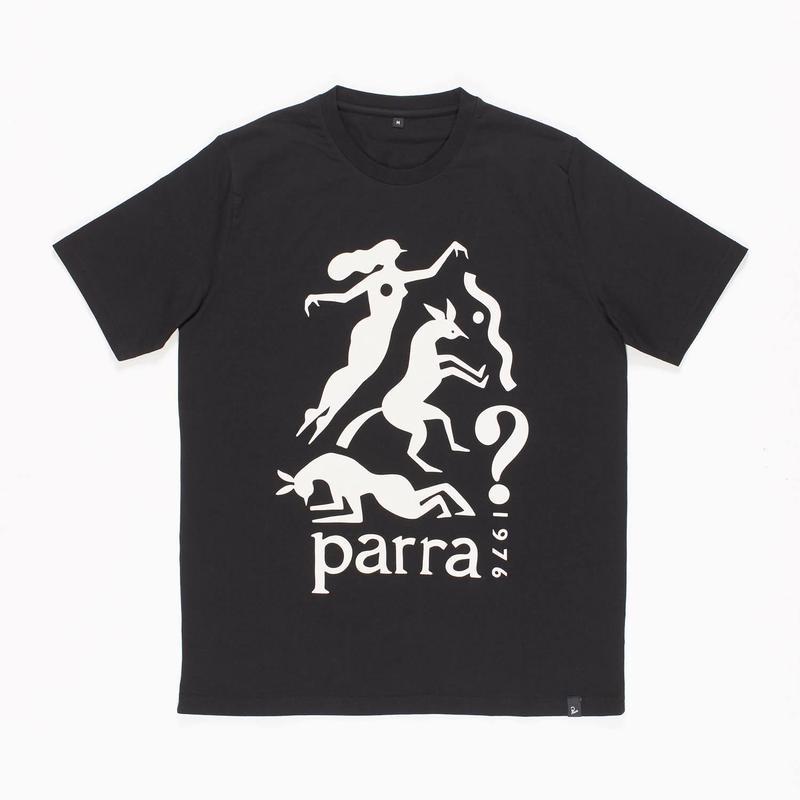 by Parra | t-shirt workout woman horse (black)