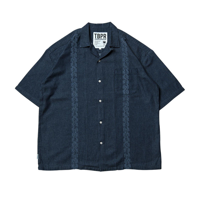 Tightbooth / ENCORE DENIM SHIRT (INDIGO)