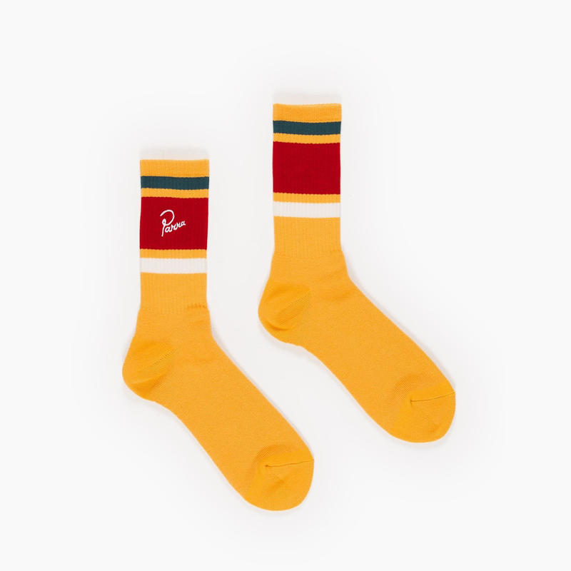 by Parra | crew socks (gold yellow)