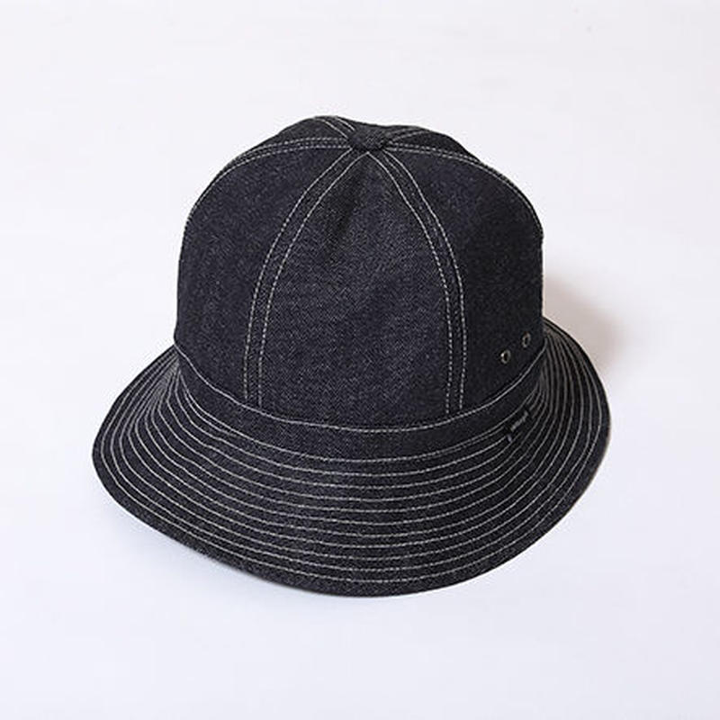 Oh!theGuilt : HAND MADE DENIM BALL HAT by BROWNIE HOME MADE(インディゴ)