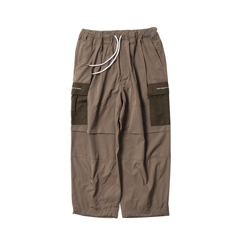 Tightbooth / BAGGY CARGO PANTS (BROWN)
