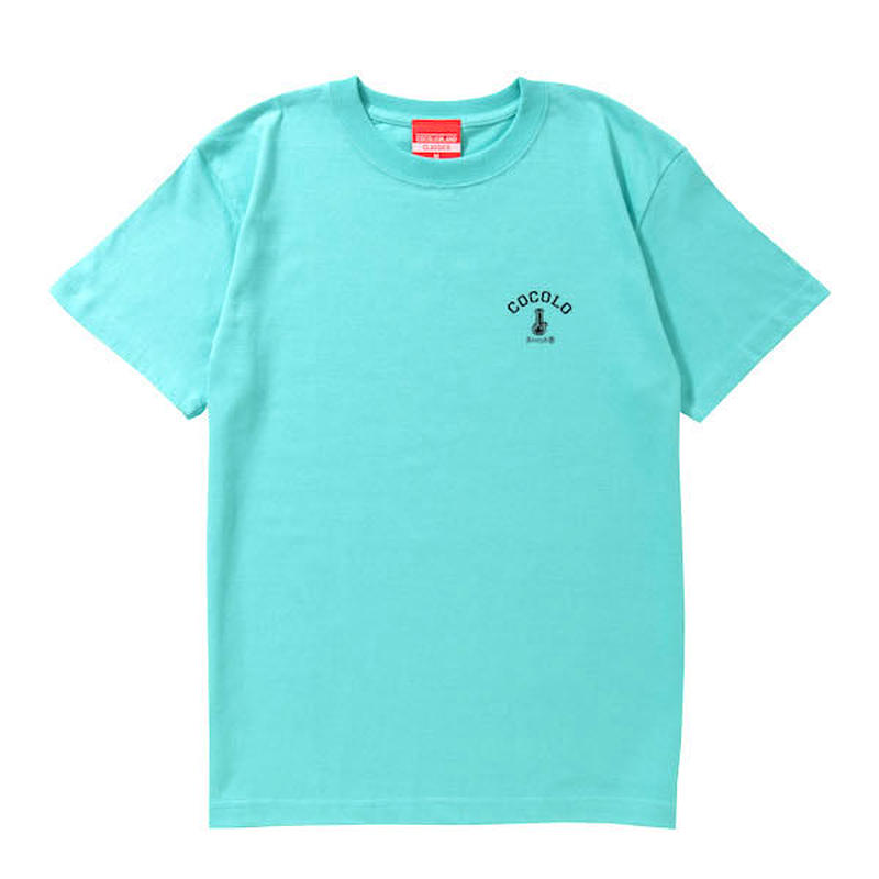 COCOLO BLAND / BACK BONG S/S TEE (MINT)