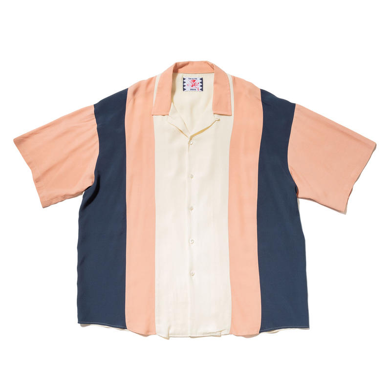 SON OF THE CHEESE | Bowling shirt (PINK)
