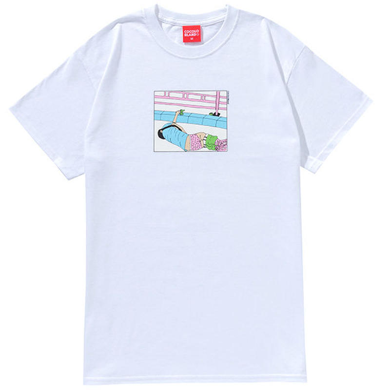 COCOLO BLAND / LET ME ALONE S/S TEE (WHITE)