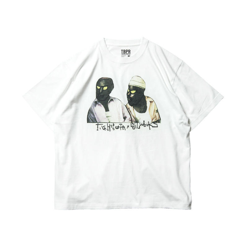 Tightbooth / BROTHERS T-SHIRT (WHITE)