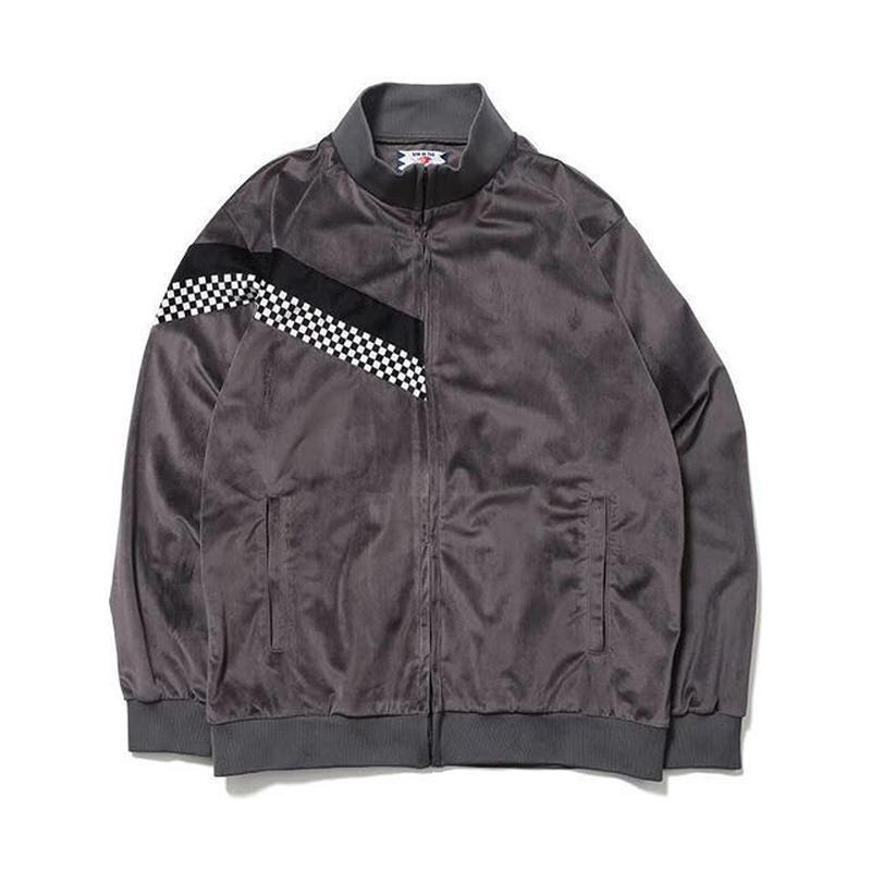 SON OF THE CHEESE | check Jersey JKT (GRAY)