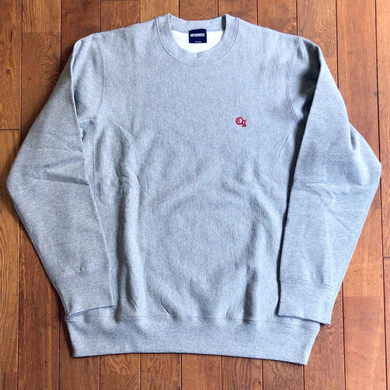 "Oh!theGuilt:""og""EMBROIDERY CREW SWEAT(ヘザーグレー)"