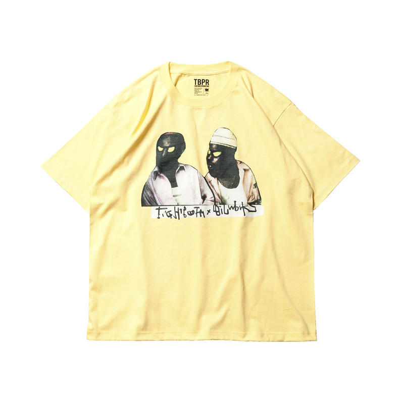 Tightbooth / BROTHERS T-SHIRT (CREAM)