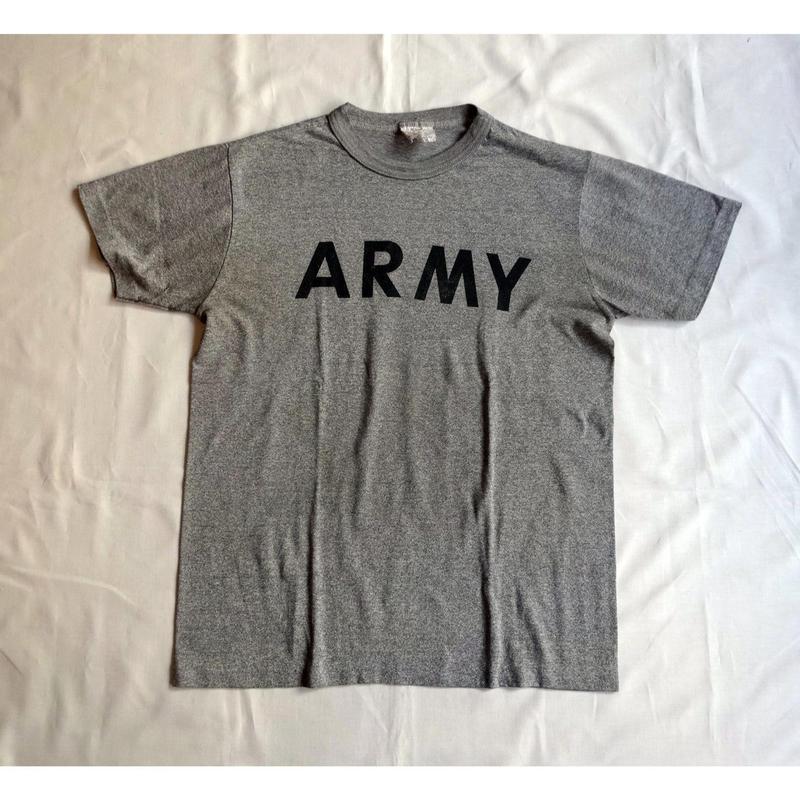 USED (古着)U.S.ARMY Tシャツ(ヘザーグレー)