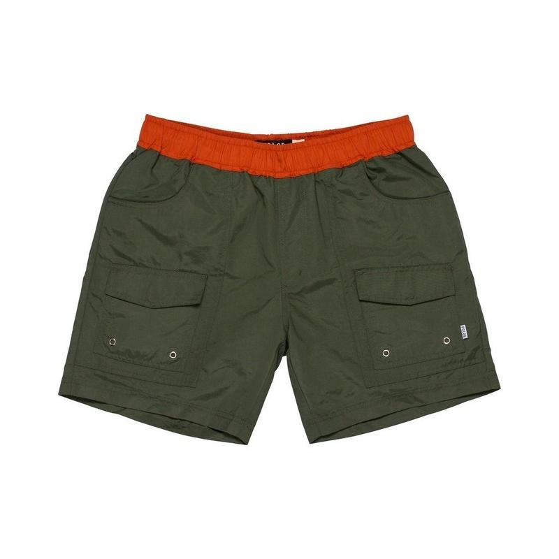 POLER | DUO CAMP VOLLEY SHORT (OLIVE)