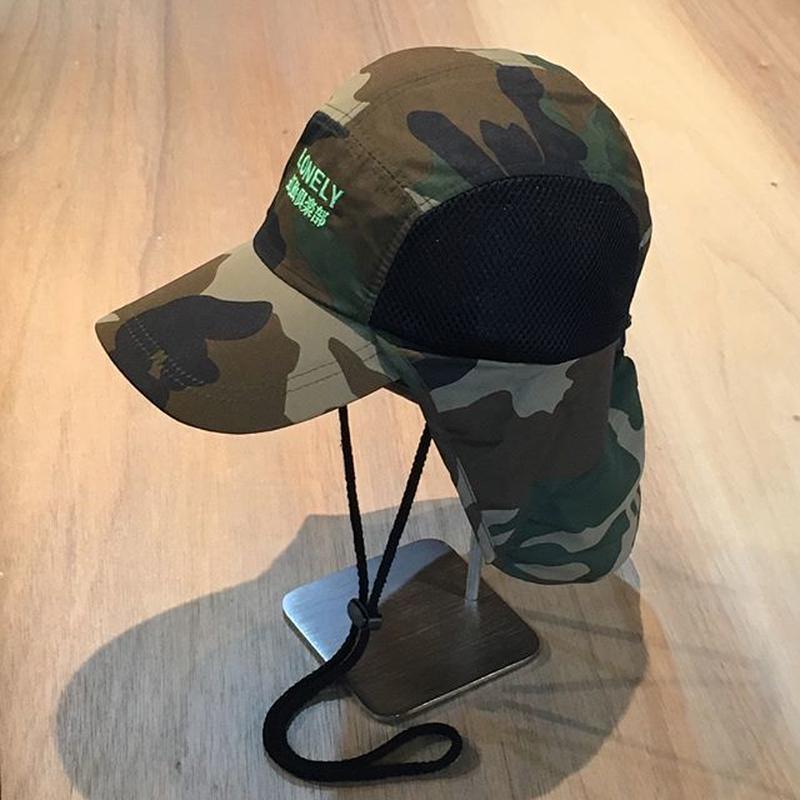 LONELY論理 #7 | SUDARE CAMP CAP (CAMO)
