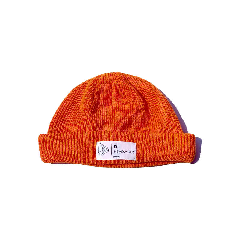 DL HEADWEAR | Kenny Cuff Cool Knit (orange)