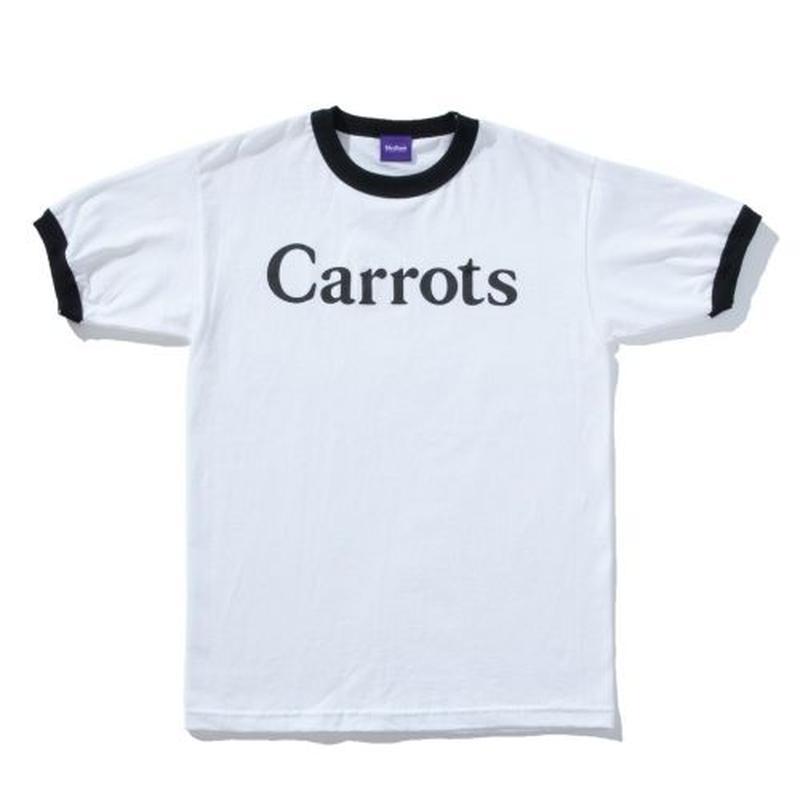 Carrots by Anwar Carrots | WORDMARK RINGER TEE (BLACK)