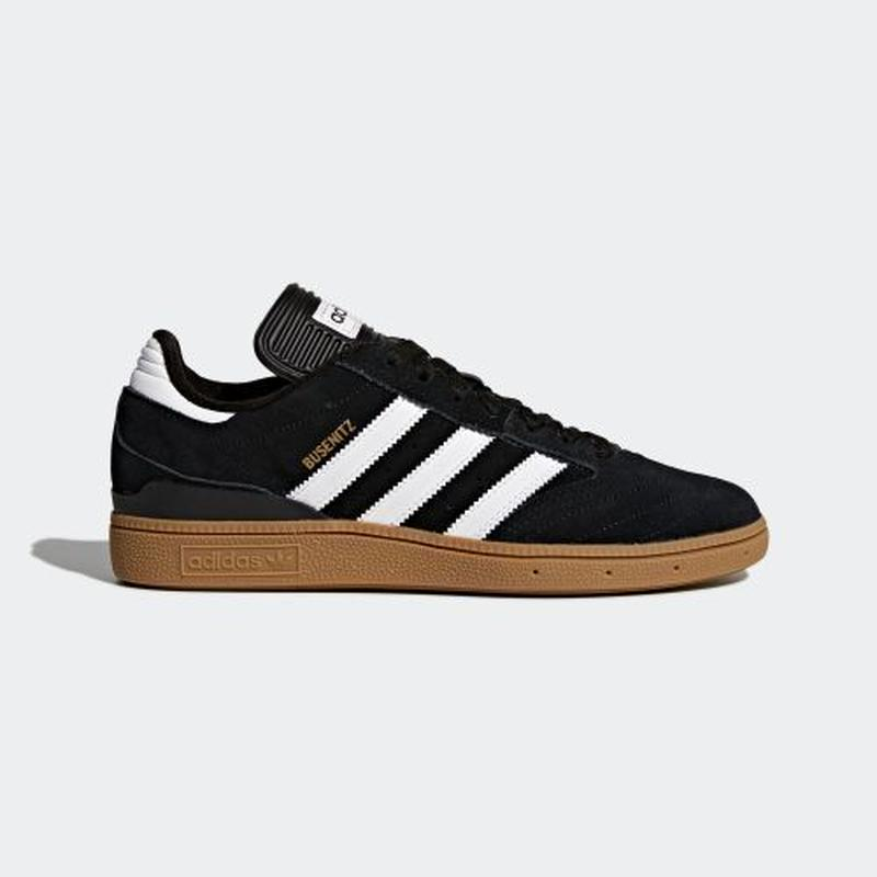 adidas SB / BUSENITZ (BLACK/GUM)