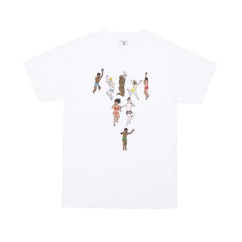 Alltimers / JUMP TEE (WHITE)