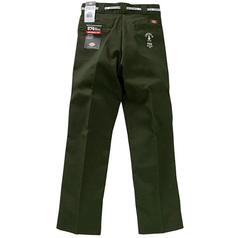 COCOLO BLAND / #556 WORK PANTS (OLIVE GREEN)