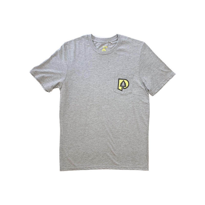 "POLeR OUTDOOR STUFF | ""P"" Logo S/S Tee  (GRAY)"