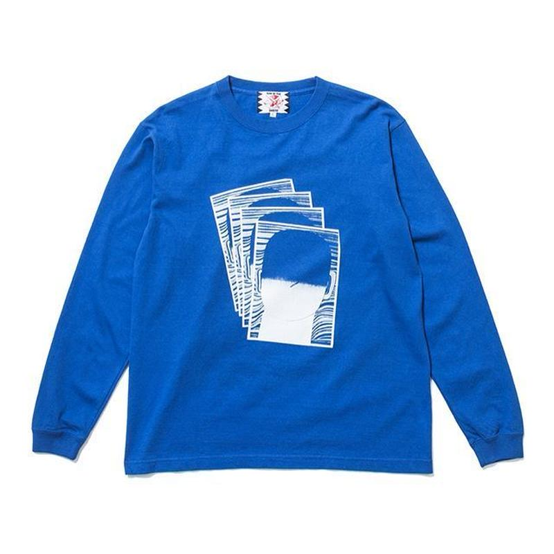 SON OF THE CHEESE | FACE commu sleeve (BLUE)