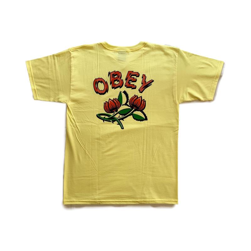 OBEY | OBEY BRIAR TEE (LEMON)