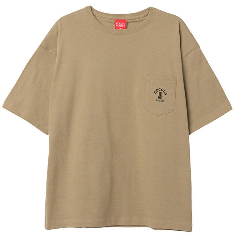 COCOLO BLAND / POCKET WIDE S/S (BEIGE)
