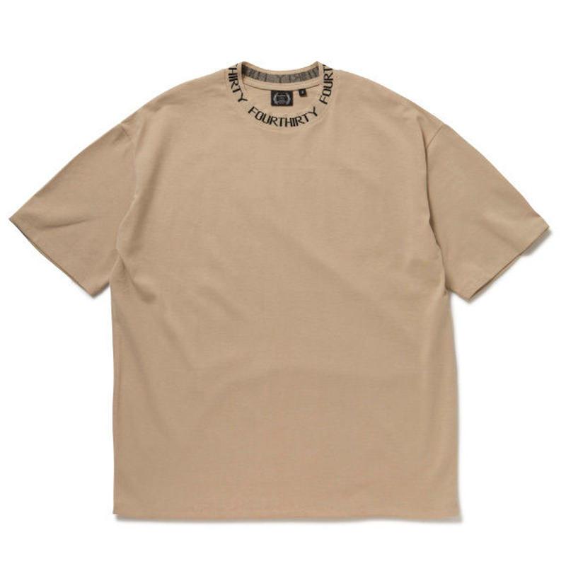 430 | JACQUARD COLLAR S/S BIG TEE