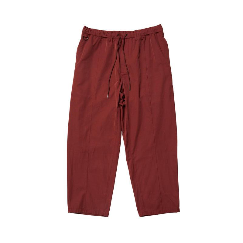 EVISEN SKATEBOARDSゑ®︎ | PIN TUCK EASY PANTS (BURGUNDY)