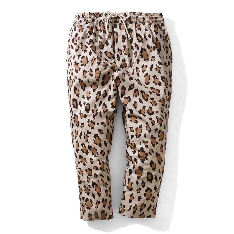 FLATLUX   Ideal Easy Pant (khaki leopard)