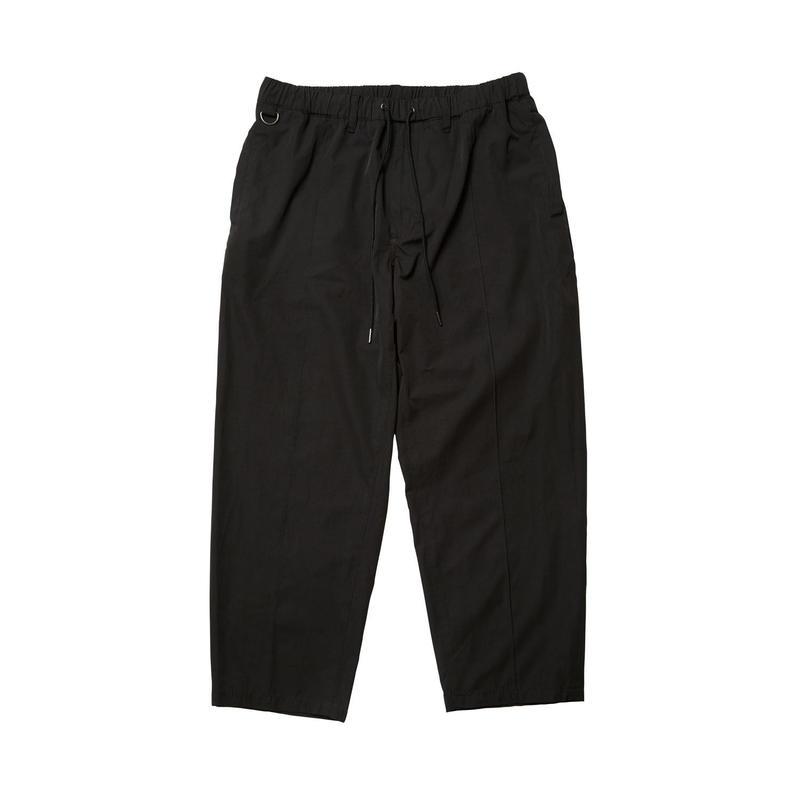 EVISEN SKATEBOARDSゑ®︎ | PIN TUCK EASY PANTS (BLACK)