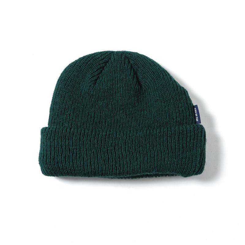 SON OF THE CHEESE | WOOL BEANIE (OLIVE)