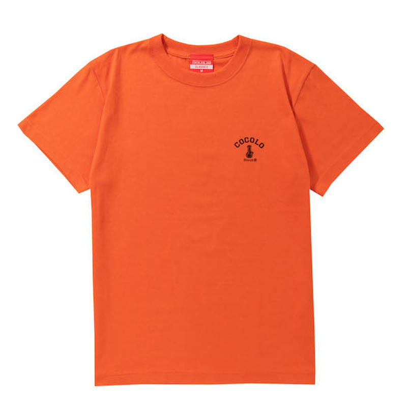 COCOLO BLAND / BACK BONG S/S TEE (CAL ORANGE)