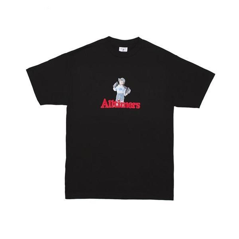 Alltimers / LIL ANGEL TEE (BLACK)