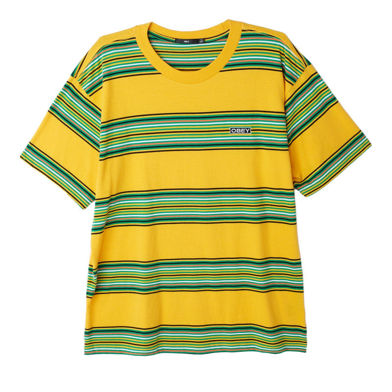 OBEY | Route Classic Tee (Yellow×Green)