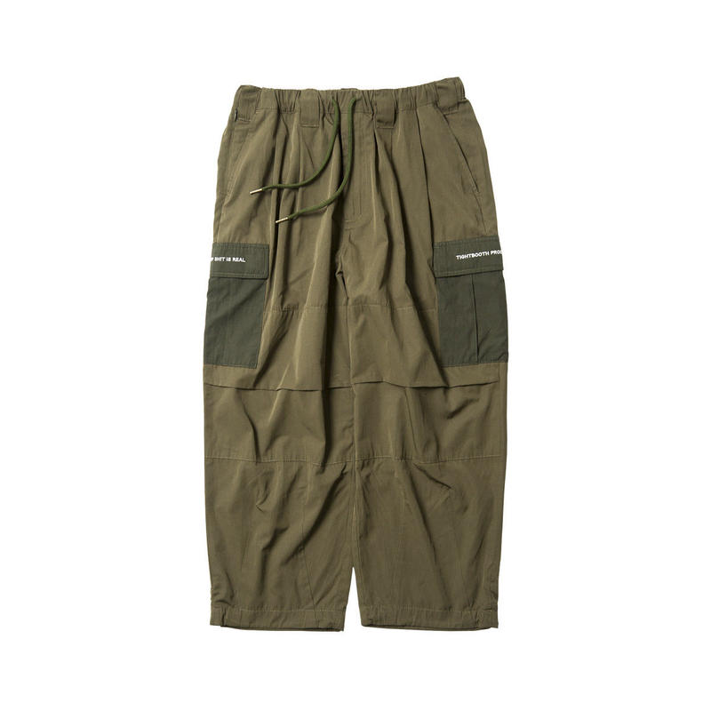 Tightbooth / BAGGY CARGO PANTS (OLIVE)