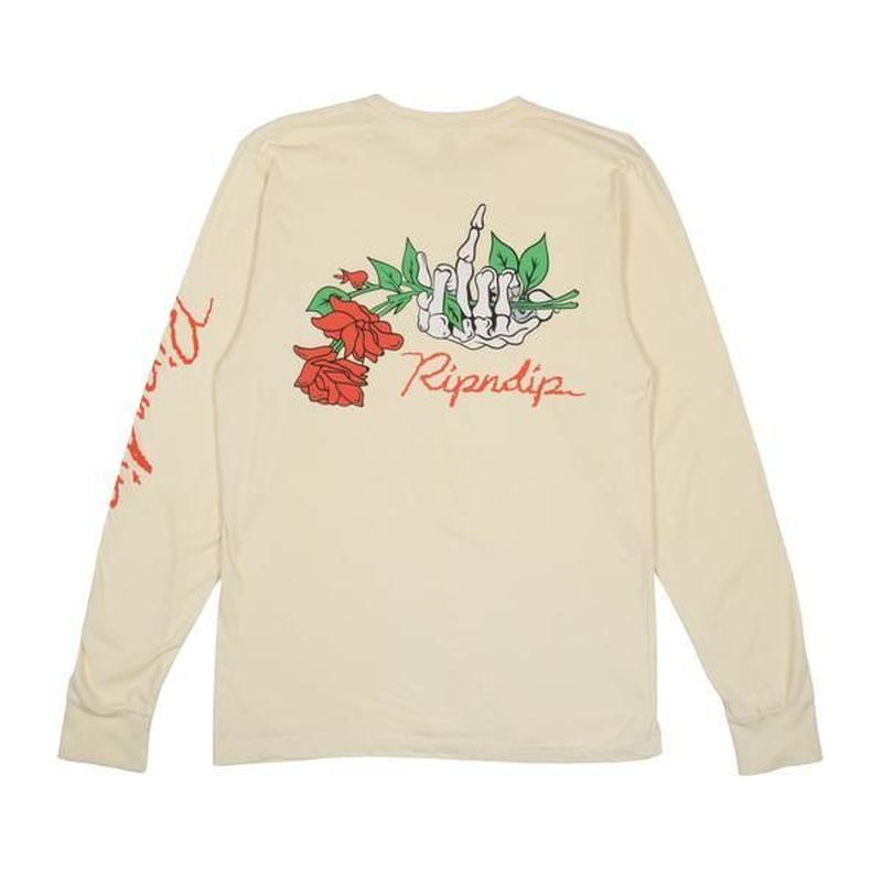 RIPNDIP | Dead Rose L/S (Yellow)